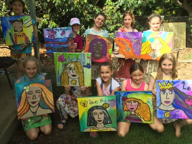 Empowering young girls through INtentional Creativity, Earth Circle Studios, QLD Australia, Jassy Watson
