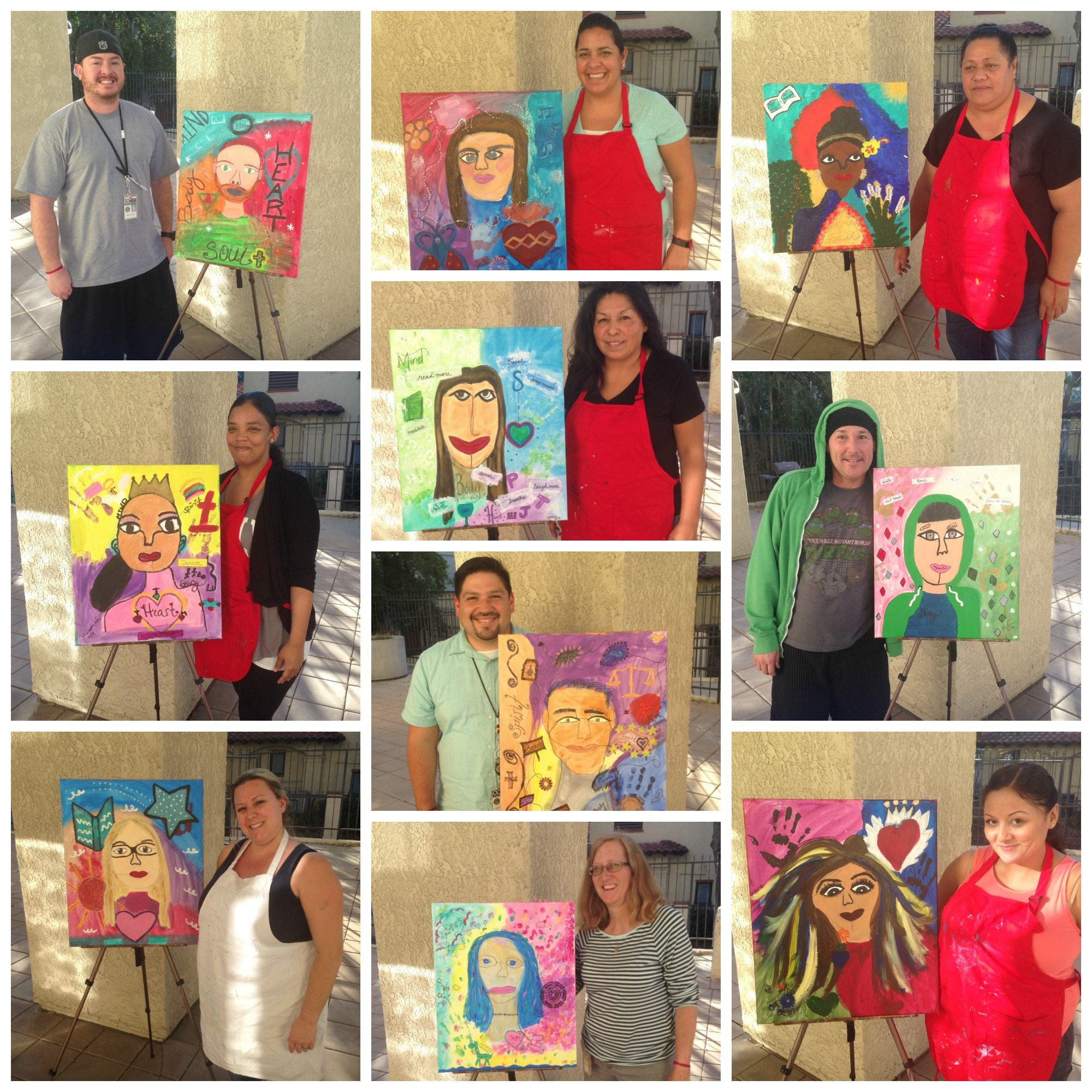 Healing the Healer-Orangewood Children and Family Center on 2-9-16-People&Muses Collage